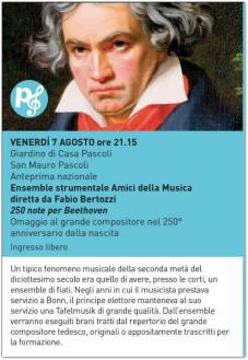 250 note per Beethoven